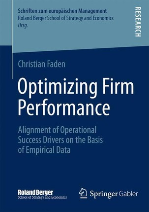 Optimizing Firm Performance