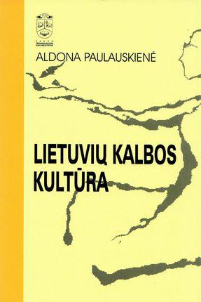 Lietuvių kalbos kultūra (2004)