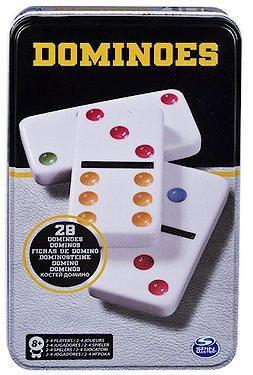 CARDINAL GAMES žaidimas Domino, metalinėje dėžutėje, 6033156