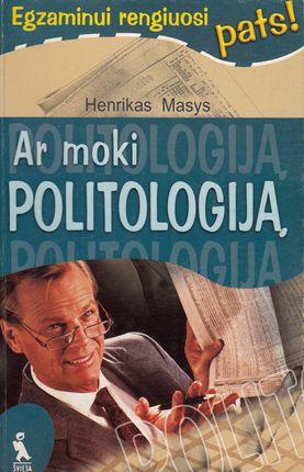 Ar moki politologiją? Egzaminui rengiuosi pats
