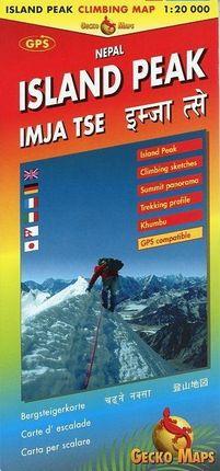 Island Peak / Imja Tse Climbing Map