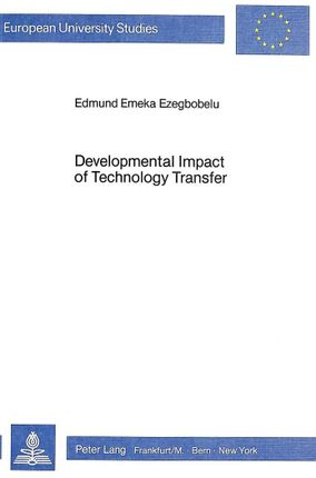 Developmental Impact of Technology Transfer