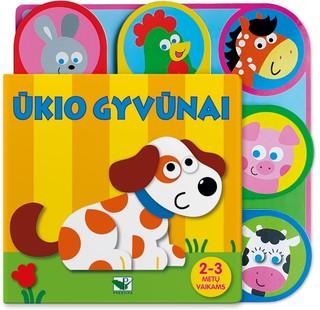 Ūkio gyvūnai. 2-3 metų vaikams