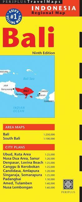 Map Of Asia Bali.Knyga Bali Travel Map Knygos Lt