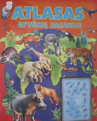 Atlasas: gyvūnų pasaulis