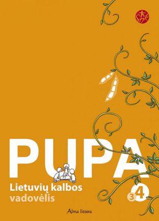"""Pupa. Lietuvių kalba. 3-oji knyga IV klasei (serija """"Šok"""")"""