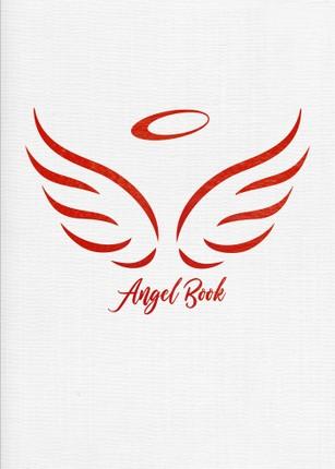 ANGEL BOOK užrašinė-darbo kalendorius 2021 m. (balta)
