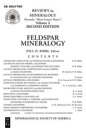 Feldspar Mineralogy