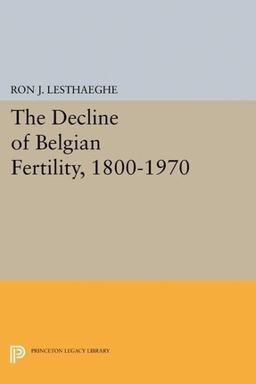 Decline of Belgian Fertility, 1800-1970