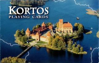 Kortos su Lietuvos vaizdais (Trakai)