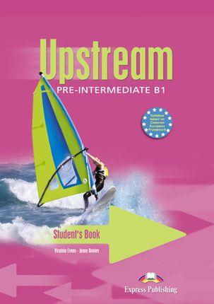 Upstream pre-intermediate. Student's book. Anglų kalbos vadovėlis
