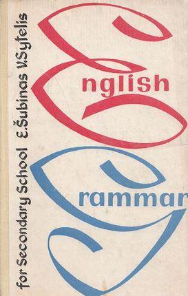 Anglų kalbos gramatika (1977)