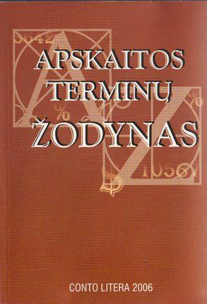 Apskaitos terminų žodynas