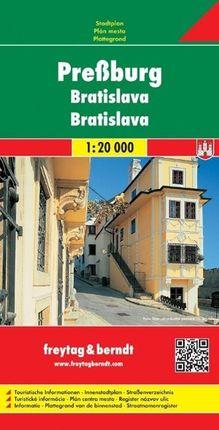 Preßburg / Bratislava Gesamtplan 1 : 20 000