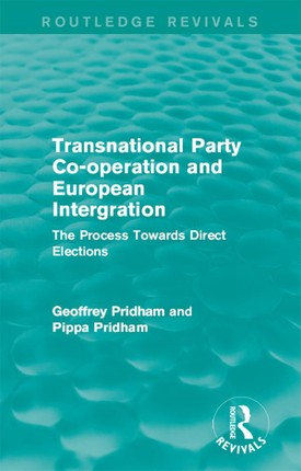 Transnational Party Co-operation and European Integration
