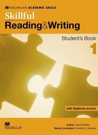 Skillful Level 1. Reading and Writing. Student's Book with digibook (ebook with additional practice area and video material)