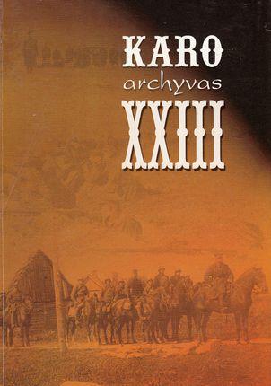 Karo archyvas XVIII
