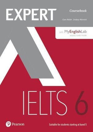 Expert IELTS 6 Coursebook with Online Audio and MyEnglishLab Pin Pack