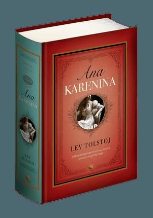 ANA KARENINA: 2 tomai vienoje riboto tiražo kolekcinio leidimo knygoje. Vienas geriausių visų laikų romanų ir nepranokstama odė Meilei, išversta į bemaž visas pasaulio kalbas