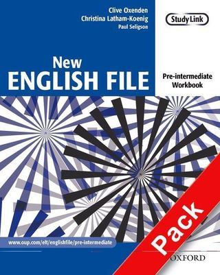 New English File: Pre-intermediate. Workbook with MultiROM Pack
