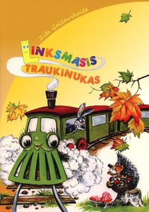 Linksmasis traukinukas: eilėraščiai vaikams (didelės raidės)