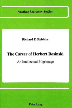 The Career of Herbert Rosinski