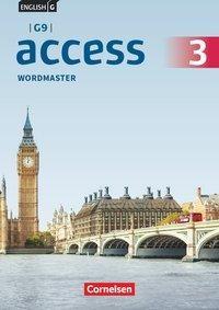 English G Access - G9 - Band 3: 7. Schuljahr - Wordmaster mit Lösungen