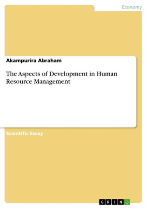 The Aspects of Development in Human Resource Management