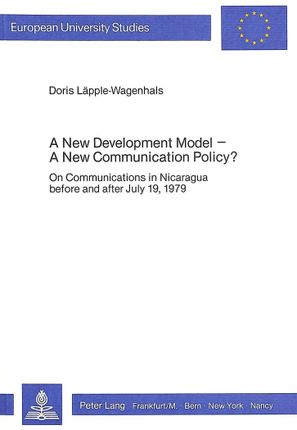 A New Development Model - A New Communication Policy?