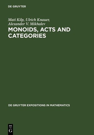 Monoids, Acts and Categories
