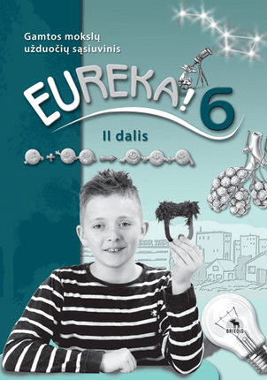 Eureka! 6. Užduočių sąsiuvinis 6 kl., II d. (ATNAUJINTAS)