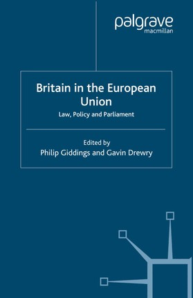 Britain in the European Union