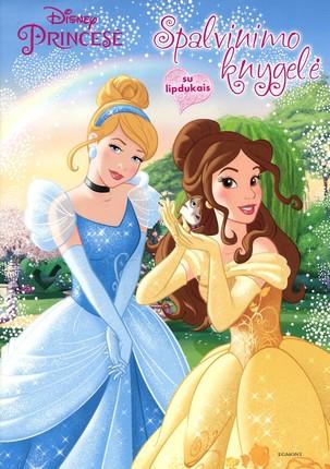 Princesė: spalvinimo knygelė
