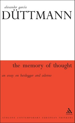 The Memory of Thought
