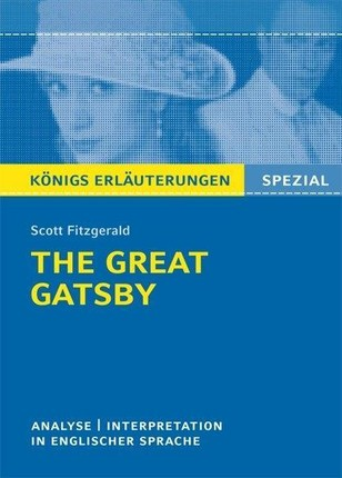 The Great Gatsby von F. Scott Fitzgerald.