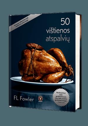 """50 VIŠTIENOS ATSPALVIŲ: įkvėpta trilogijos """"50 pilkų atspalvių"""", geriausia AMAZON.COM redaktorių knyga!"""