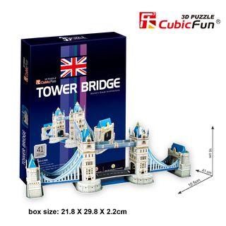 3D dėlionė: Tauerio tiltas (41)