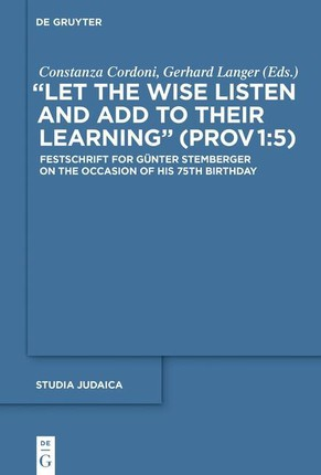 """""""Let the Wise Listen and add to Their Learning"""" (Prov 1:5)"""