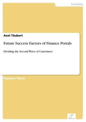 Future Success Factors of Finance Portals